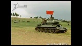 Танк Т-34. Лучший танк второй мировой войны.