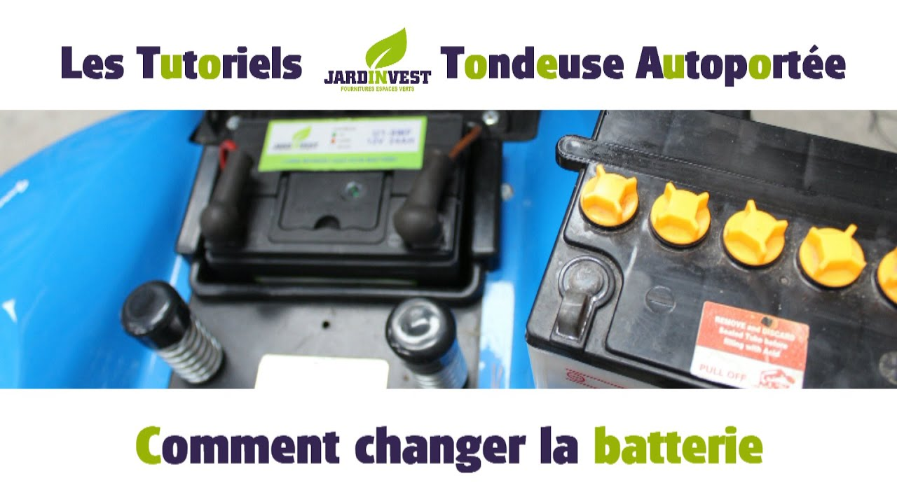 tutoriel autoport e n 3 comment changer votre batterie de tracteur tondeuse 12n24 u19 ou. Black Bedroom Furniture Sets. Home Design Ideas