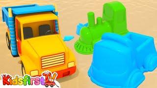 Sanal Oyuncaklar ile Renk öğrenin. Araba ile Bebek Çizgi film