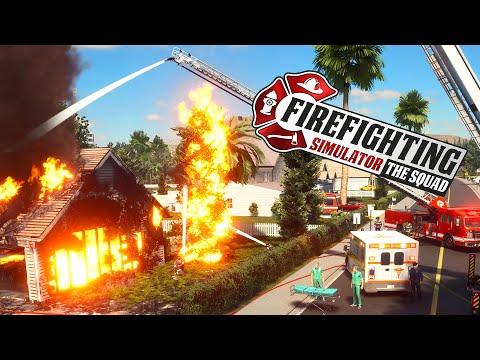 Firefighting Simulator The Squad # 4 - Chemikalien im Schuppen