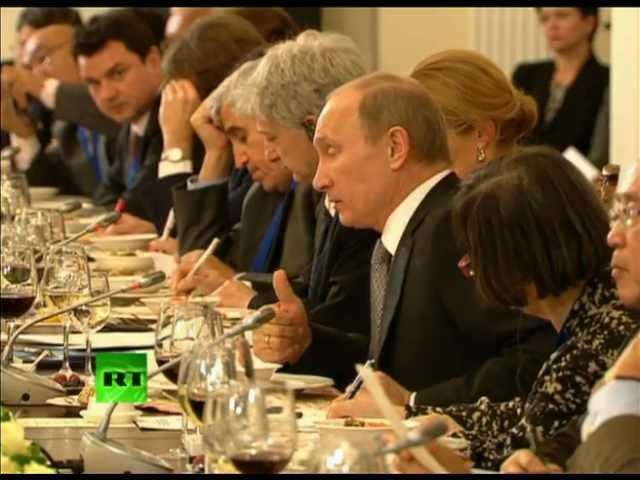 """Путин: """"Мы не могли отказать BP"""""""