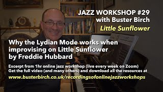 Using the Lydian mode - Excerpt from Online Jazz Workshop #29 (1hr video available)