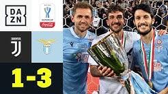 "Alte Dame unterliegt dem ""Angstgegner"": Juventus - Lazio 1:3 | Supercoppa Italiana | DAZN Highlights"