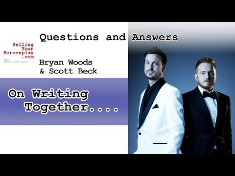 Scott Beck And Bryan Woods On Writing Together