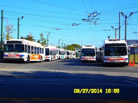 SEPTA & New Jersey Transit: Bus Observations (September 27, 2014)