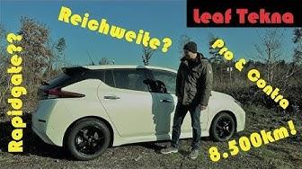 Nissan Leaf 40kwh - Fazit nach 6 Monaten