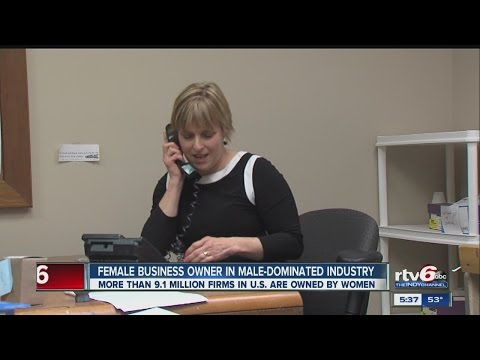 Female business owner thrives in male-dominated industry