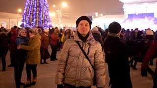 Новый год в Костроме 2015: народные гуляния на Сусанинской площади