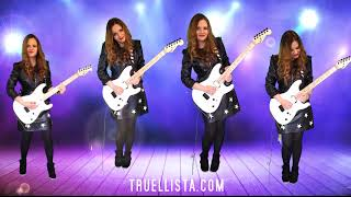 Stampede Of Love Solo - an epic harmonised rock guitar chorus version