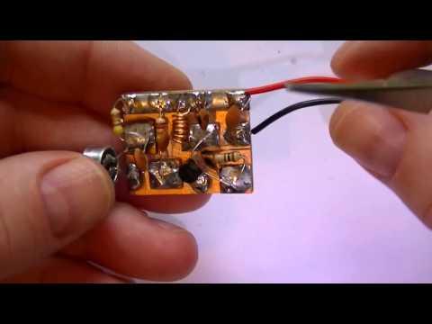A one transistor Surveillance Spy Bug.A FM Transmitter