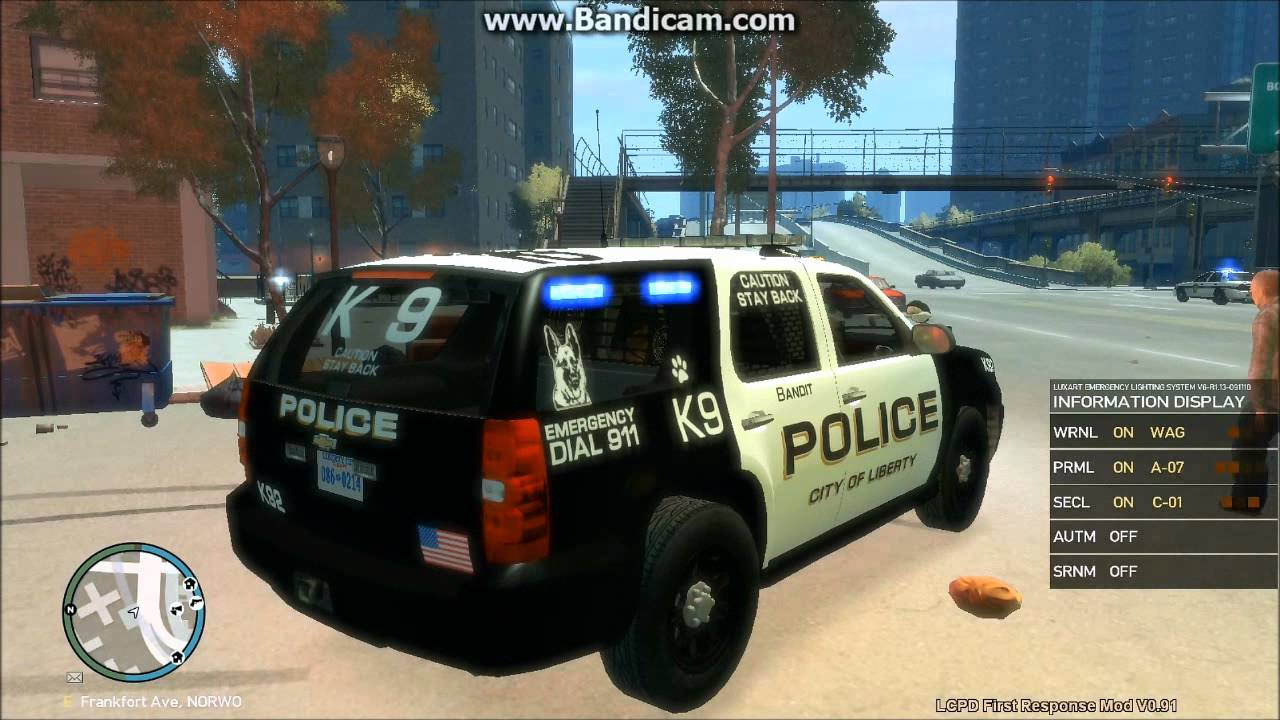 Gta IV LCPD 07 Tahoe Canine Unit Drug bust operation - YouTube
