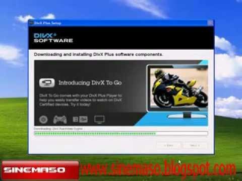 Divx web player kurulum