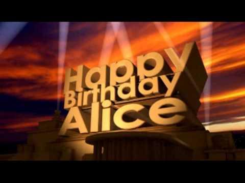 HAPPY BIRTHDAY ALICE! - EPIC Happy Birthday Song