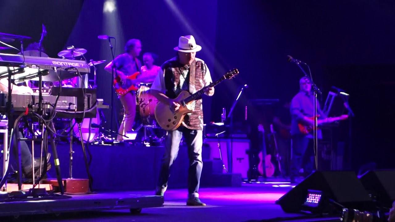 Santana Live - Woodstock Intro and Soul Sacrifice - 8/9/2019 - Indy