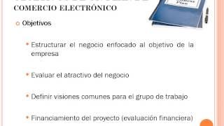 Plan de Negocios para el comercio electrónico