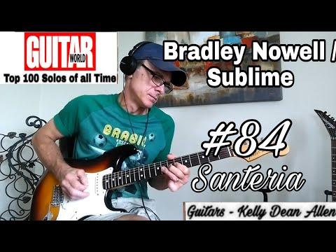 #84 Bradley Nowell & Sublime - Santeria solo cover by Kelly Dean Allen