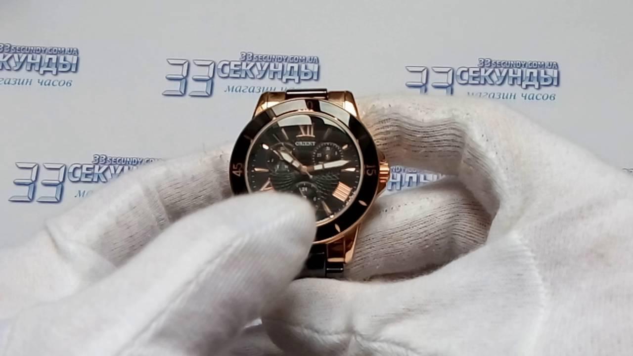 Romanson TM1231HLB BK часы женские кварцевые видео обзор - YouTube
