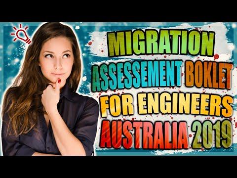 Migration Skills Assessment Booklet For Engineers Australia 2020