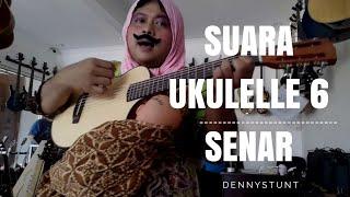 Jual Gitar Ukulele 6 senar ORIGINAL merk HEX | #Guitarvlog by #dennystunt