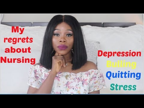 MY REGRETS ABOUT GOING INTO NURSING | NURSE BULLYING | DEPRESSION | NEW NURSES MUST WATCH