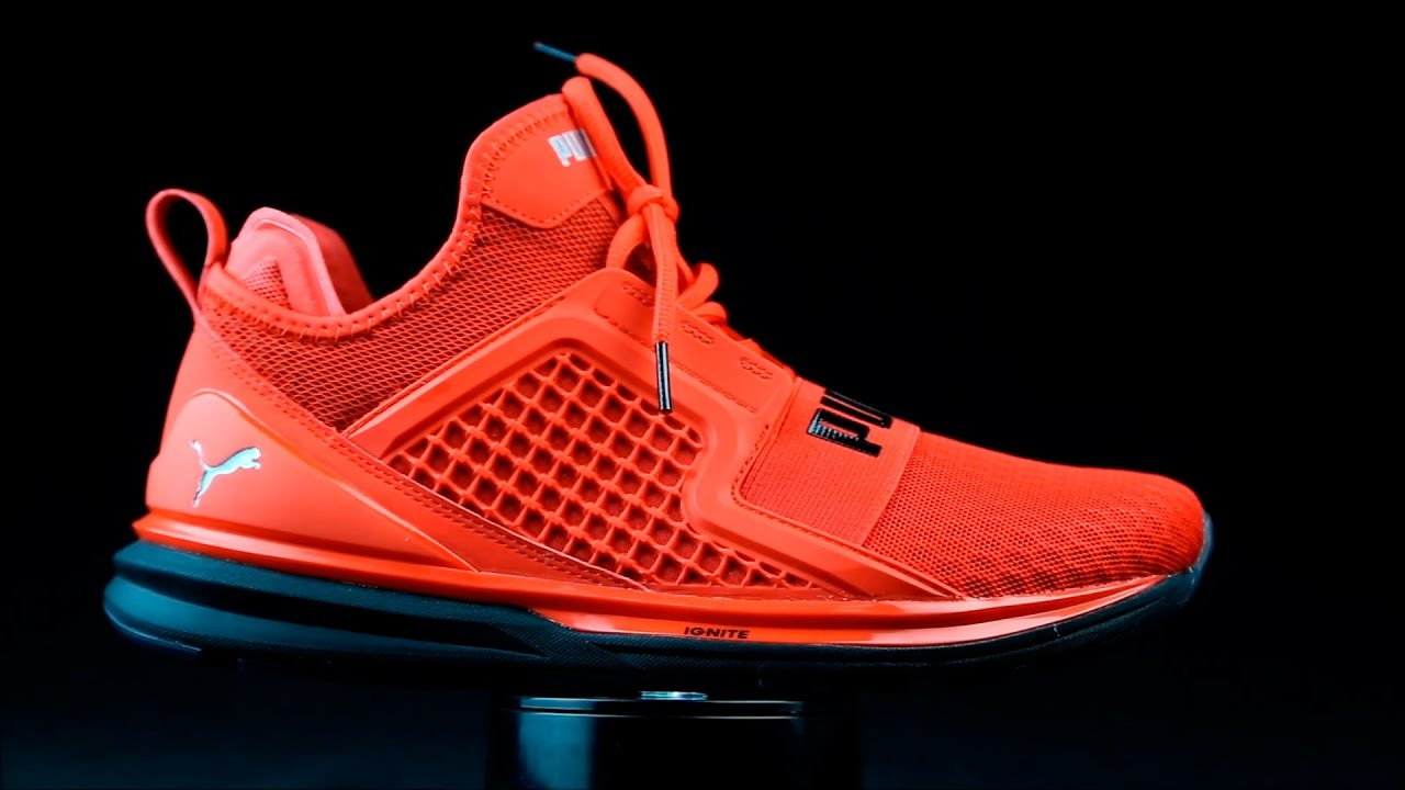 best website abb9f d60aa Puma Ignite Limitless rojo.