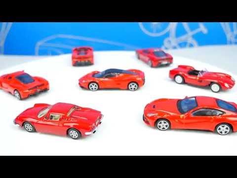 Cмотреть онлайн Гараж с Машинками Феррари для детей - Автопаркинг с треком. FERRARI PARKING GARAGE