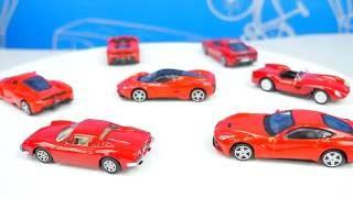 Гараж с Машинками Феррари для детей - Автопаркинг с треком. FERRARI PARKING GARAGE