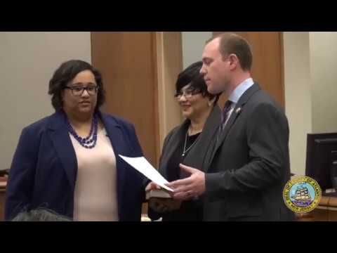 2018 Board of Chosen Freeholders Reorganization Meeting