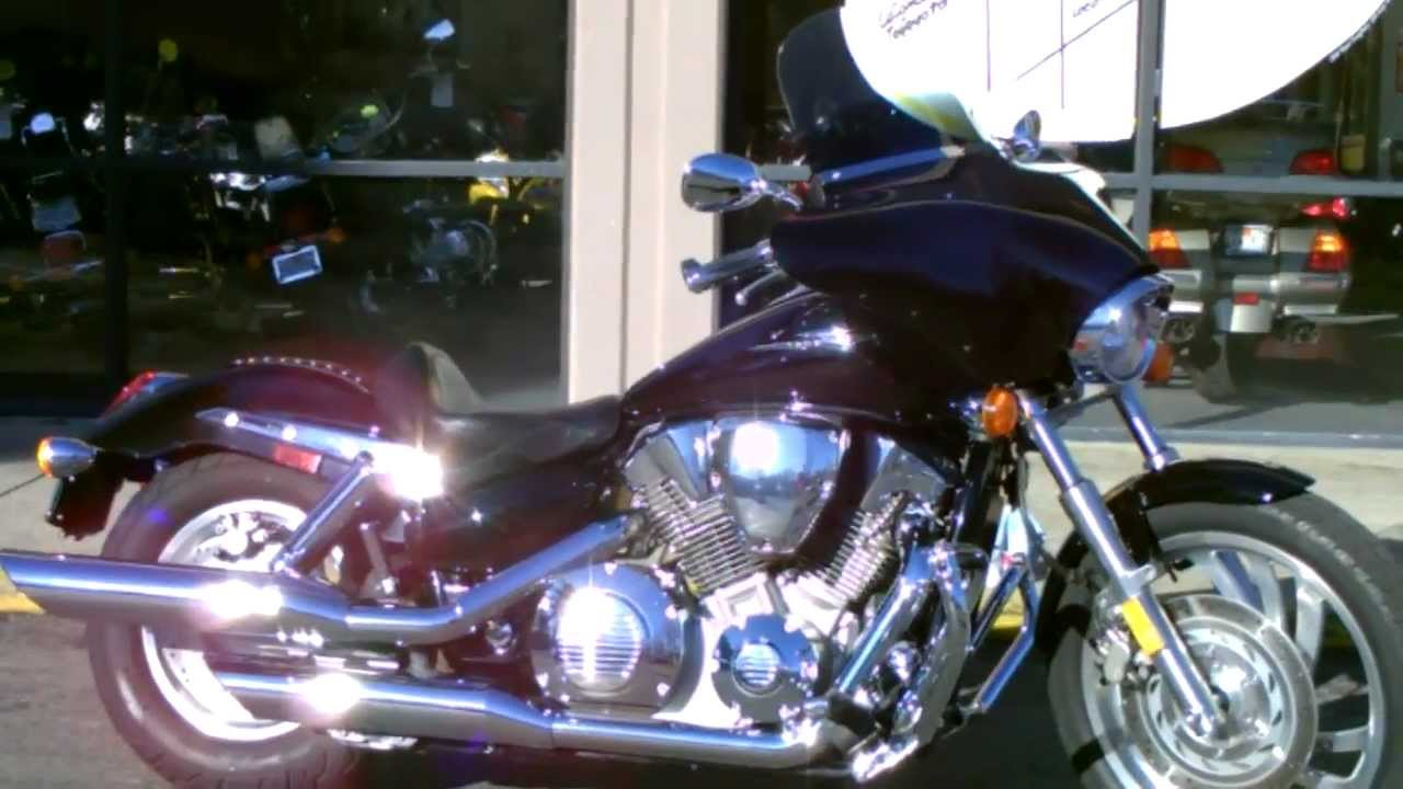 hight resolution of contra costa powersports used 2006 honda vtx1300c v twin cruiser with batwing fairing youtube