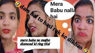 # masuka family channel Mera pati nalla nahin hai/mimicry and comedy video