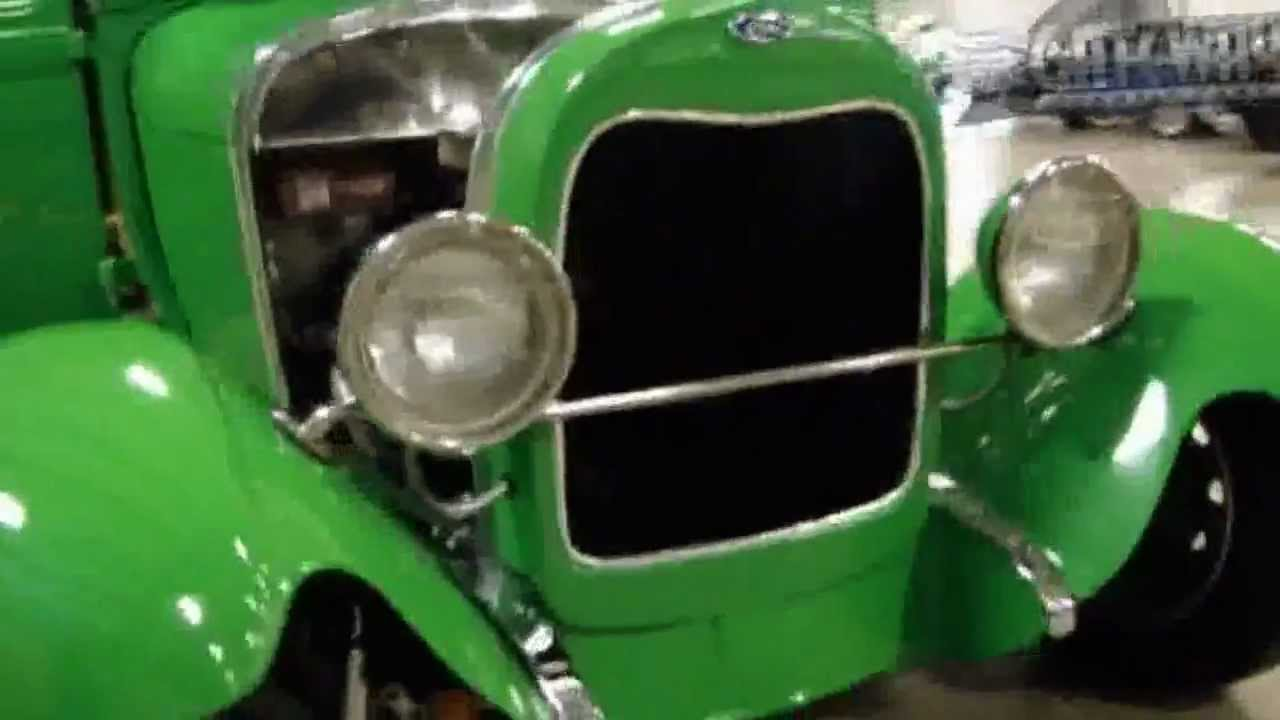 1929 Ford model A Street Rod For Sale [Louisville] Green 1928 Ford ...