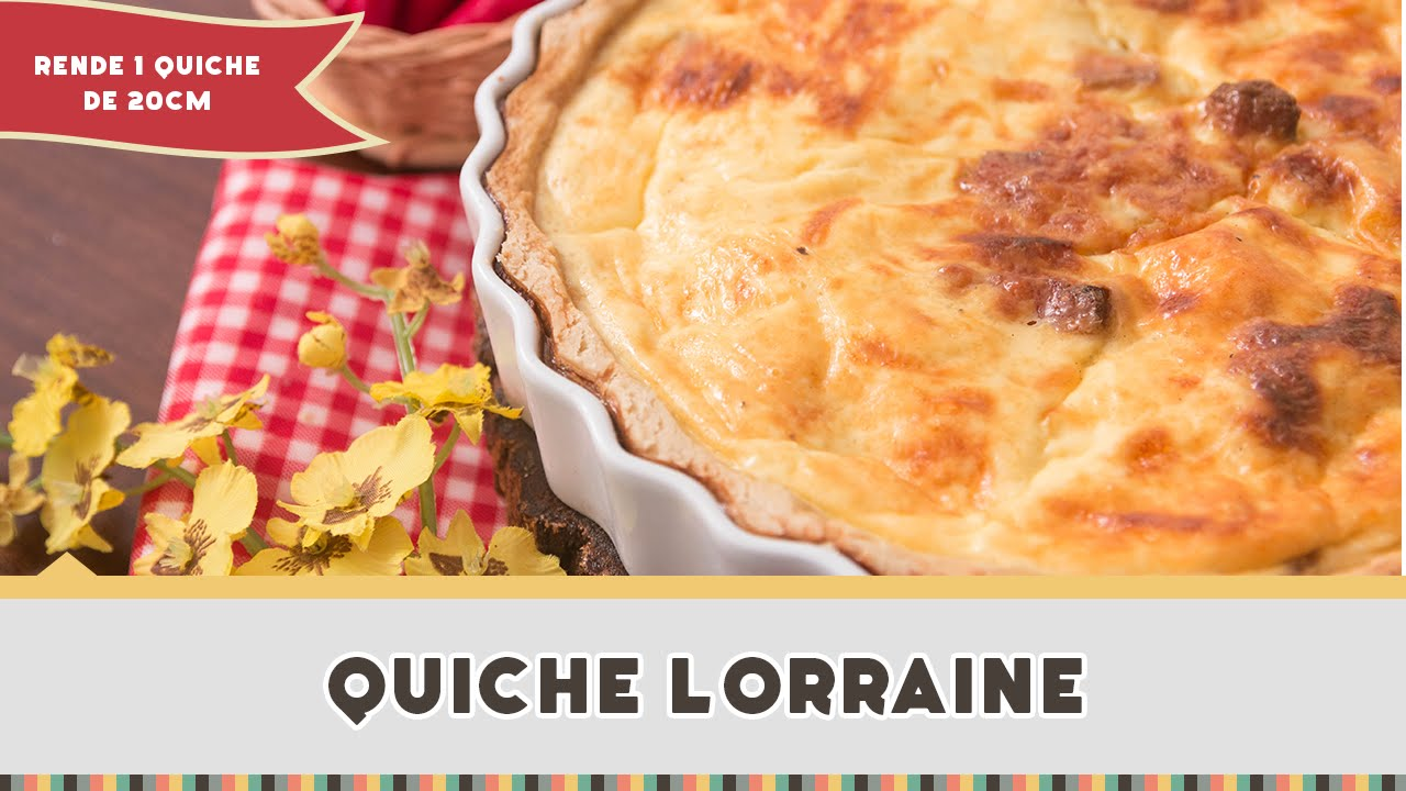 Quiche Lorraine Receitas De Minuto 232 Youtube