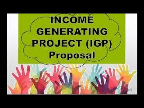 Download School Income Generating Project (IGP) Proposal