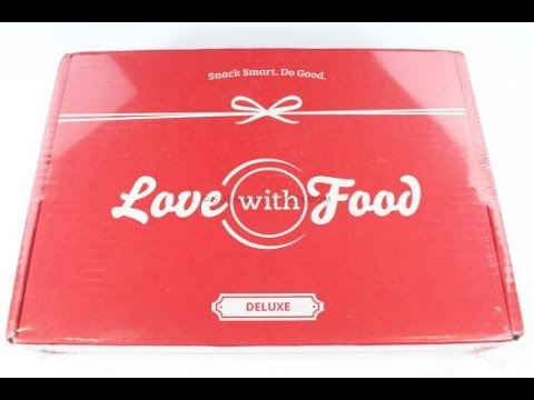 Love with Food Deluxe June 2016 Review/Unboxing + Coupons #LOVEWITHFOOD