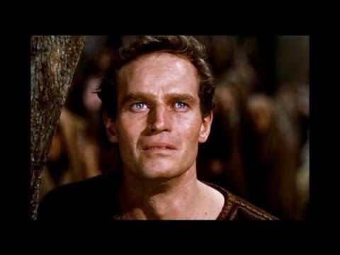 Ben Hur (1959) - Judah Ben-Hur witnessing Jesus death - YouTube