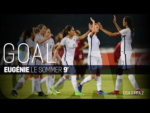 WNT vs. France: Eugénie Le Sommer Goal - Mar. 7, 2017