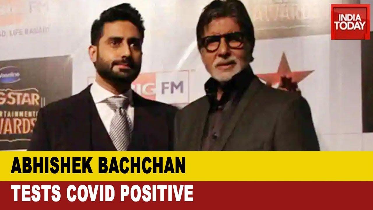 Amitabh Bachchan, son Abhishek test positive for Covid-19 ...
