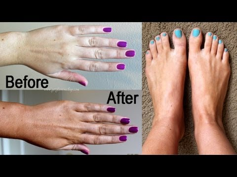 How to Self Tan Tricky Areas (Hands, Feet, Elbows & Knees)