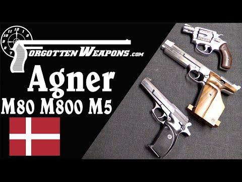 Pistols of Denmark's Artist-Turned-Inventor Bent Agner Nielsen