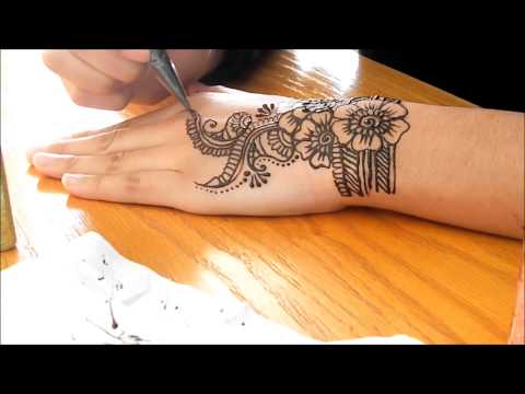 eid special edition henna tutorial 2013