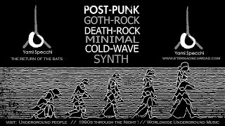 Postpunk, Gothrock, Coldwave, Deathrock, Minimal, Synth