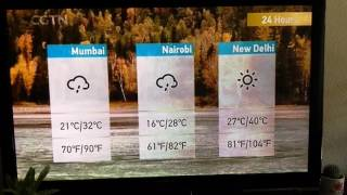 CGTN weather song