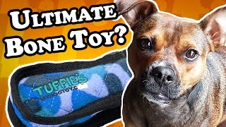How ULTIMATE is this dog toy? - Dog Toy Reviews | Tuffy's Ultimate Bone Toy