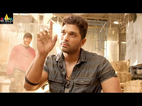Allu Arjun Action Scenes Back to Back | Iddarammayilatho | Telugu Action Scenes | Sri Balaji Video