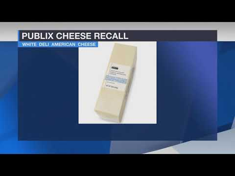 Publix Super Markets Issue Recall On Deli Cheese