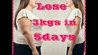 Lose 3kgs in 5 days 👋 with Isapgol