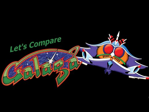 Let's Compare ( Galaga ) Remade video
