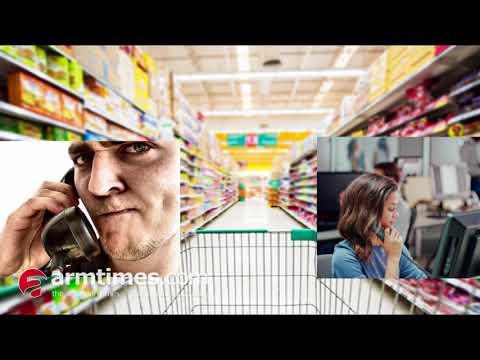 Ա՜խ ոչ թե ալո, այլ Ալլա՜. գինովցած հաճախորդը հեռախոսով գնումներ է անում հայկական սուպերմարկետից