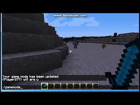 Minecraft Null Sighting #3 (Null/Herobrine) + weird silver guy