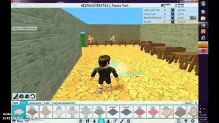 Building aur theme park in roblox part 2